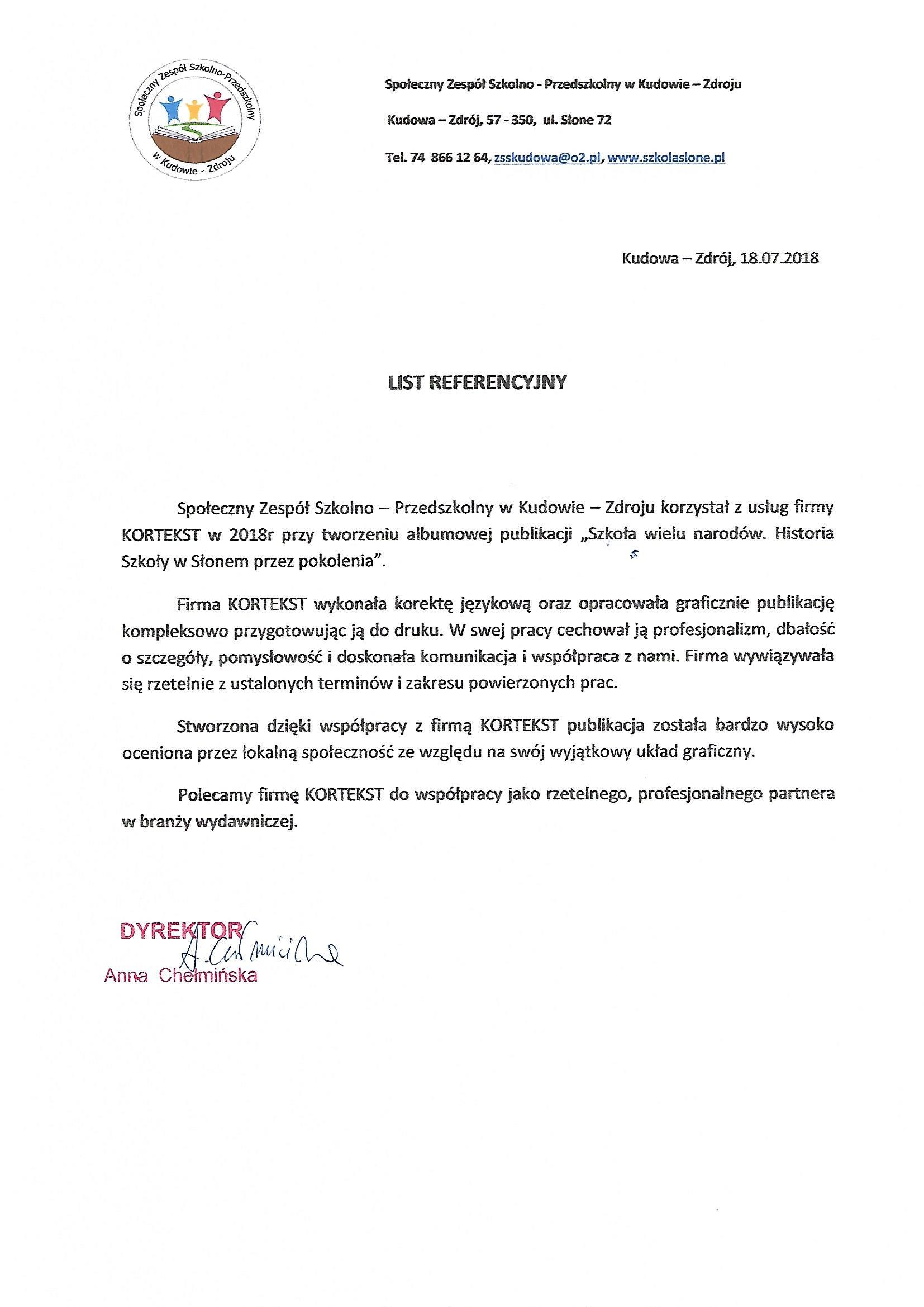 Społeczny Zespół Szkolno-Przedszkolny w Kudowie-Zdroju